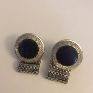 Other - Vintage blue stone cuff links excellent